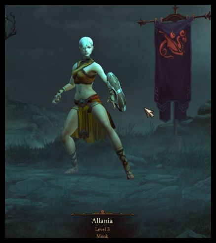 My first D3 Character